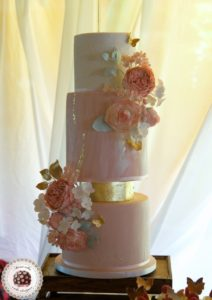Marble and Gold Dessert Table