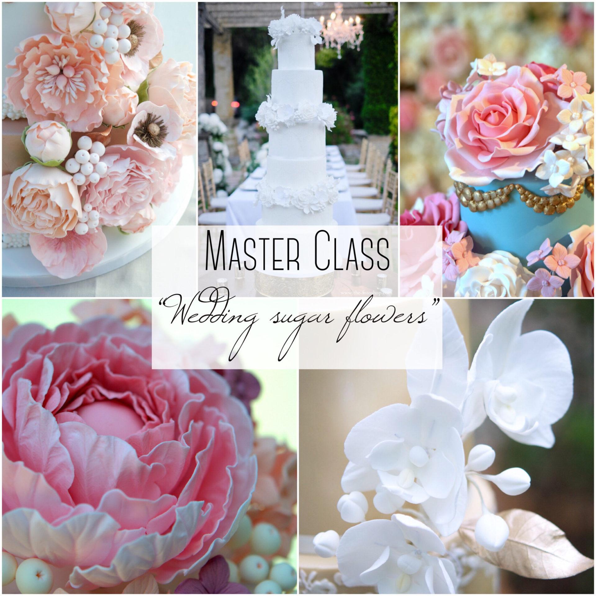 Master Class Flores de azucar, sugarflowers, curso reposteria, barcelona, mericakes, flores de azucar, pasta de goma, gumpaste, 1