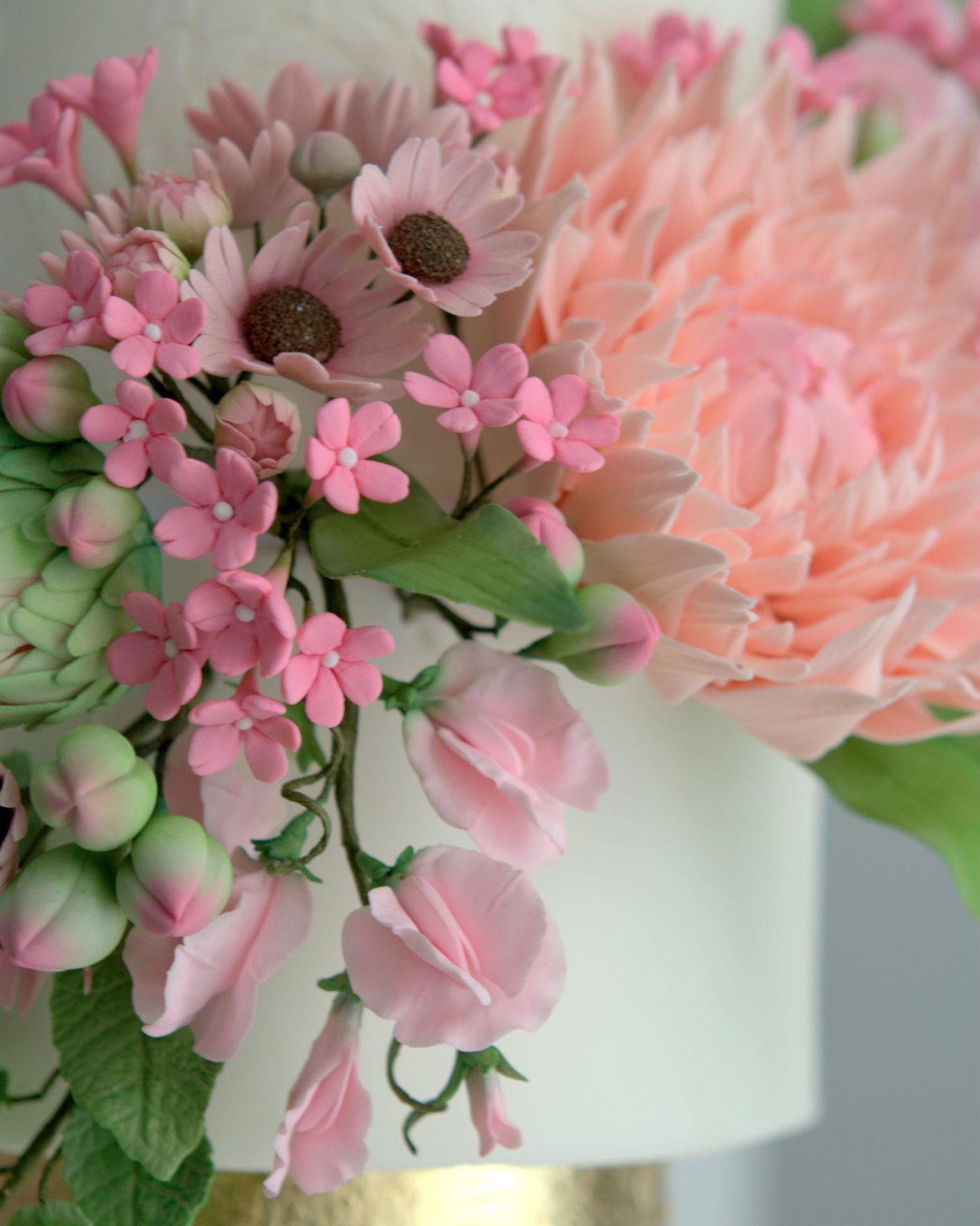 Master Class Flores de azucar, sugarflowers, curso reposteria, barcelona, mericakes, flores de azucar, pasta de goma, gumpaste, 4