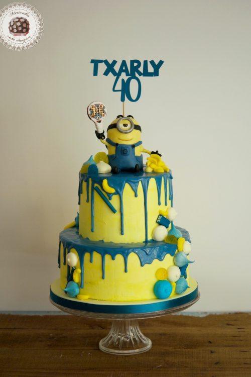 Drip Minion Cake
