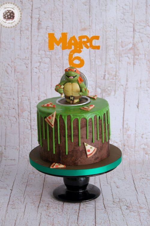 Drip cake tortugas ninja