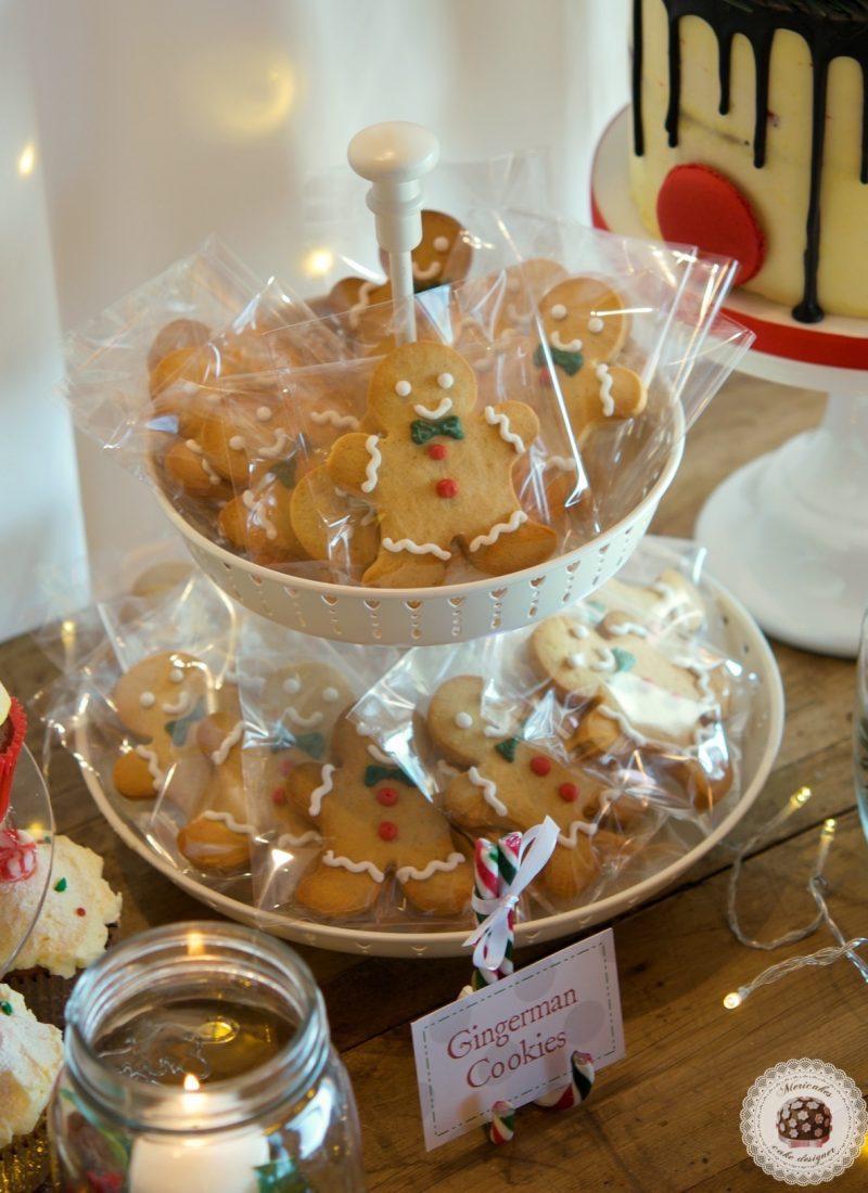 Mesa Dulce Navidad, dessert table, macarons, cookies, cakepops, mericakes, christmas table, barcelona 8