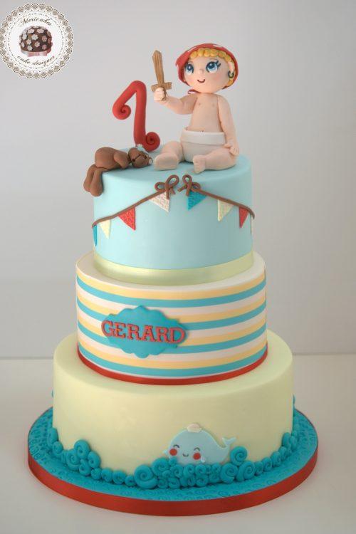 tarta-infantil-baby-cake-pirate-kawaii-tartas-barcelona-mericakes-pirata-marinera-sailor-cake-decorating-6